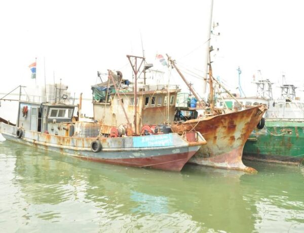 Six Vessels Intercepted for Illegal Fishing to Decide their Settlements